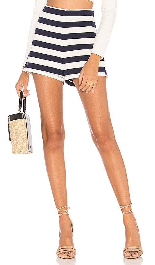 MDS Stripes Lucy Short in Navy