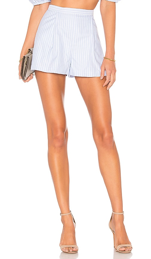 MDS Stripes x REVOLVE High Waisted Short in Baby Blue