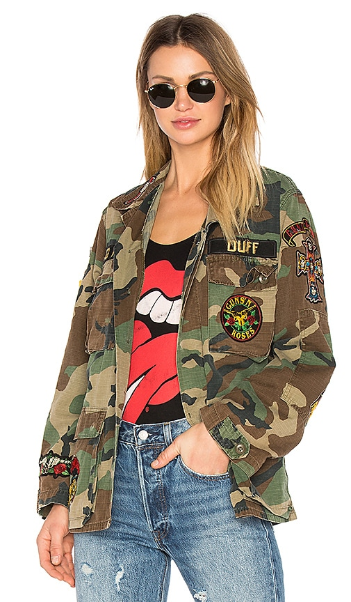 Madeworn Welcome to the Jungle Jacket in Army