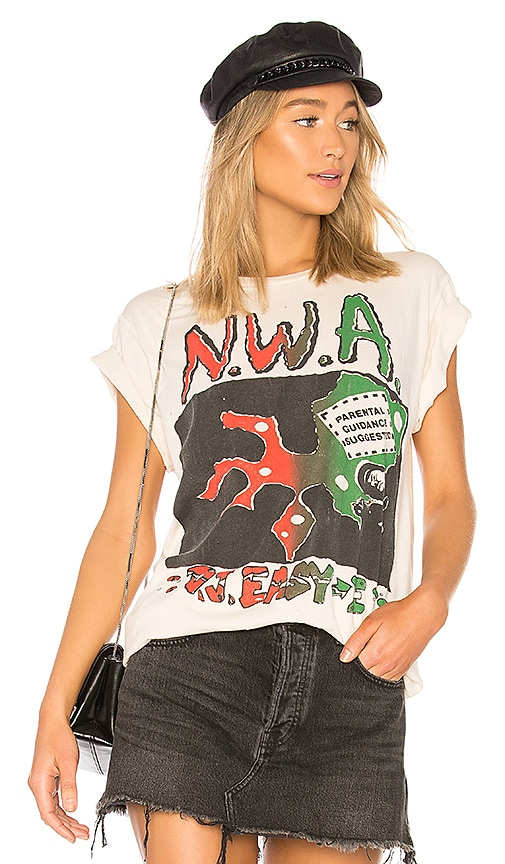 Madeworn NWA DJ Easy E Tee in Cream
