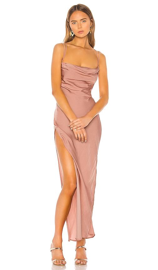 Michael Costello X Revolve Braxton Dress In Rose Revolve 25,963 reviews for revolve, 4.9 stars: x revolve braxton dress
