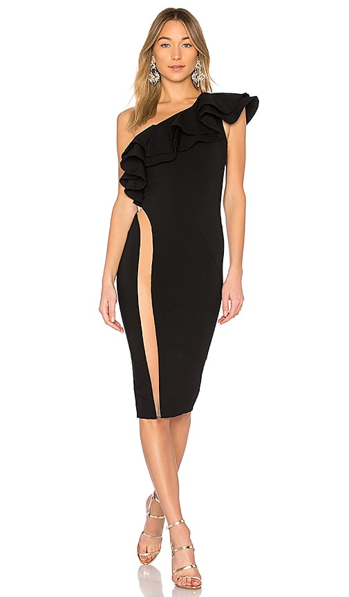 Michael Costello x REVOLVE Jasper Dress in Black