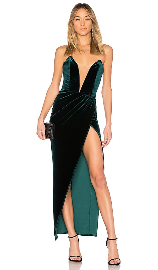x REVOLVE Philip Midi in Black. - size M (also in L,S,XS,XXS) Michael Costello