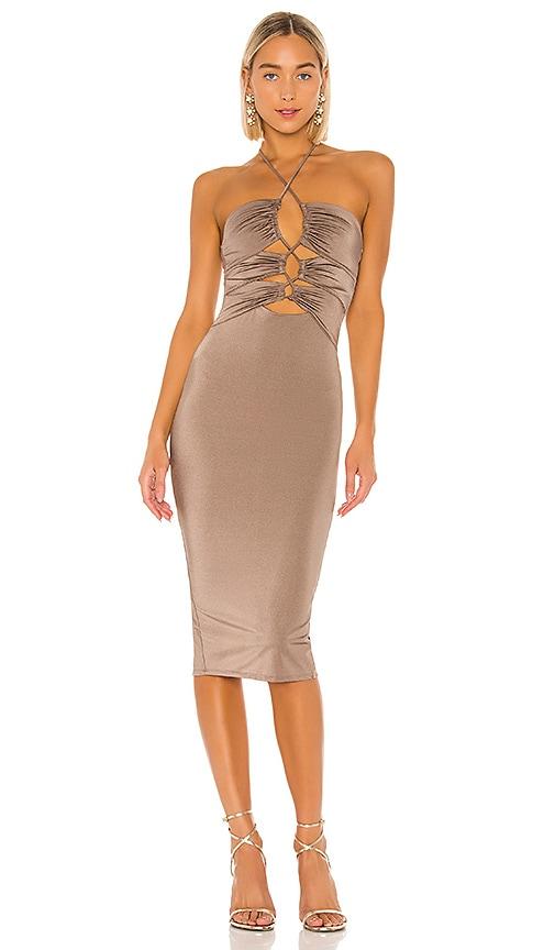 x REVOLVE Gavriele Midi Dress