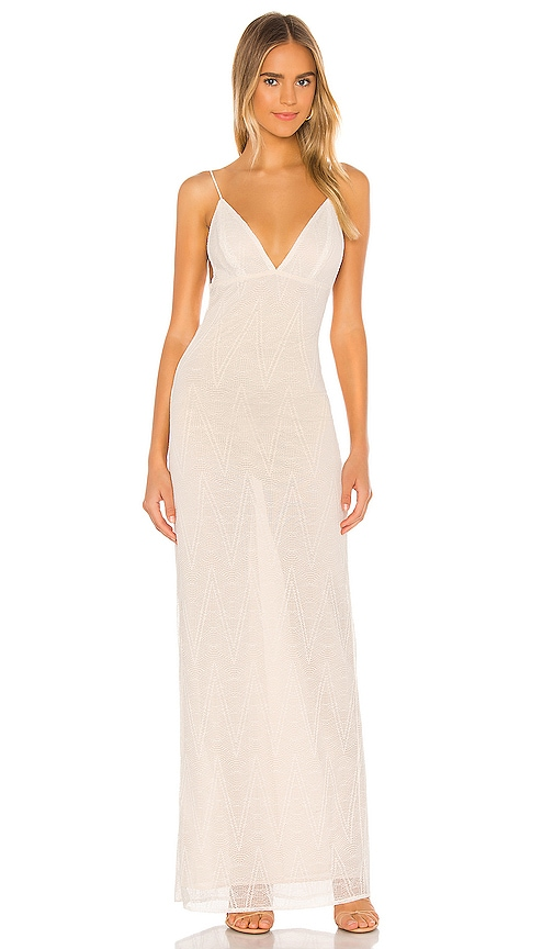 Michael Costello X Revolve Imani Maxi Dress In White Revolve Find a perfect maxi dress for a formal event or a day at the beach. x revolve imani maxi dress