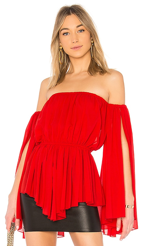 Michael Costello x REVOLVE Malyck Top in Red