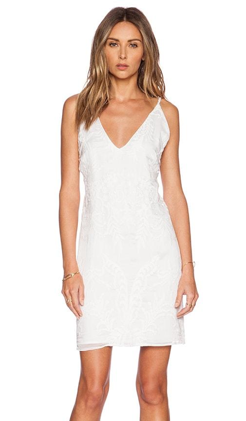 MERRITT CHARLES Perry Dress in White