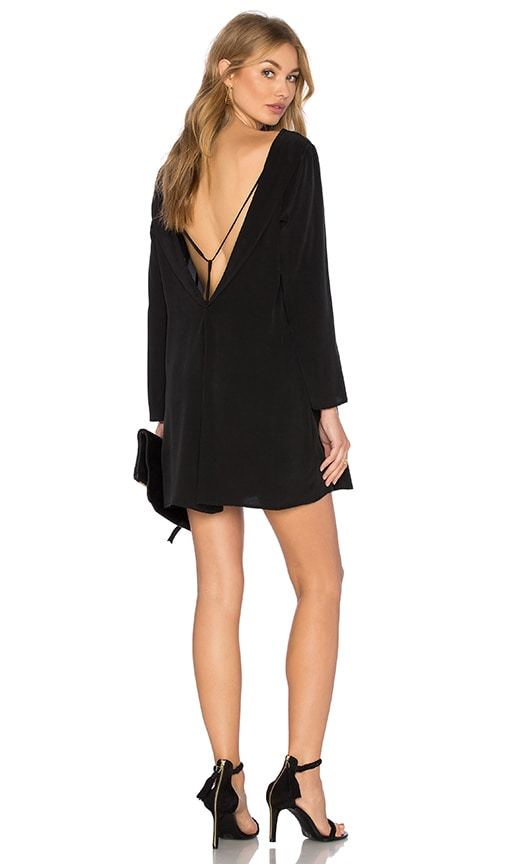 MERRITT CHARLES Spencer Dress in Black