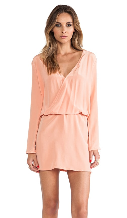 Santa Domingo Tulip Sleeve Dress