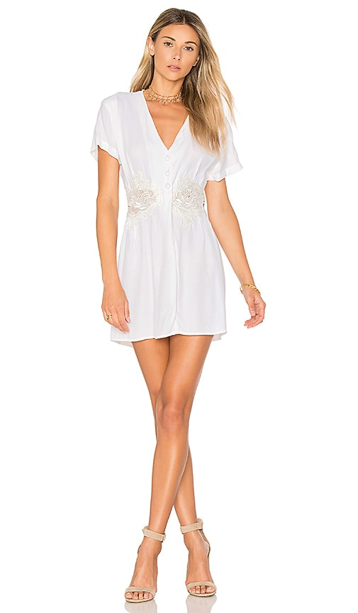 MERRITT CHARLES Robero Dress in White