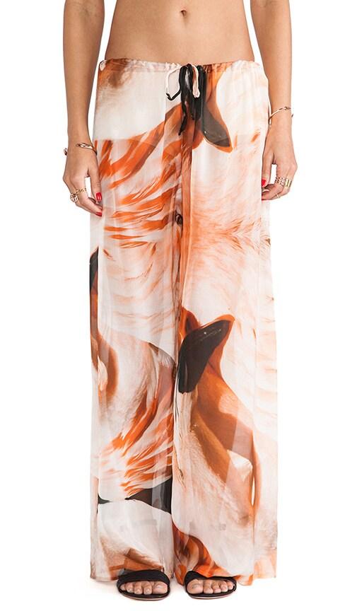 Sheer Silk Drawstring Pant