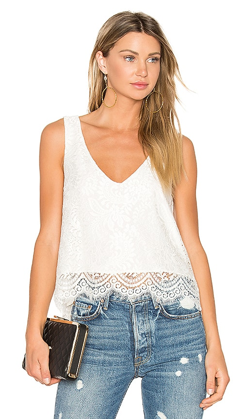 MERRITT CHARLES Winston Top in White