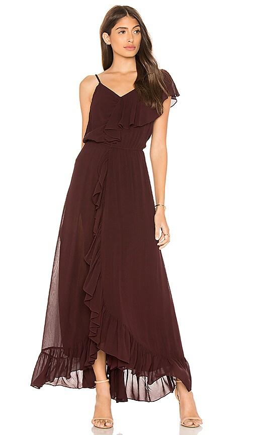 Mes Demoiselles Tango One Shoulder Dress in Purple
