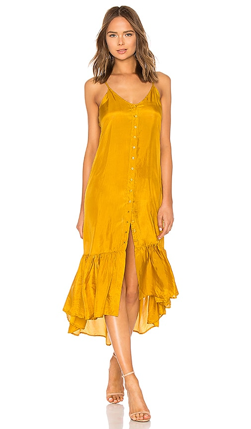 Mes Demoiselles Tosca Dress in Yellow