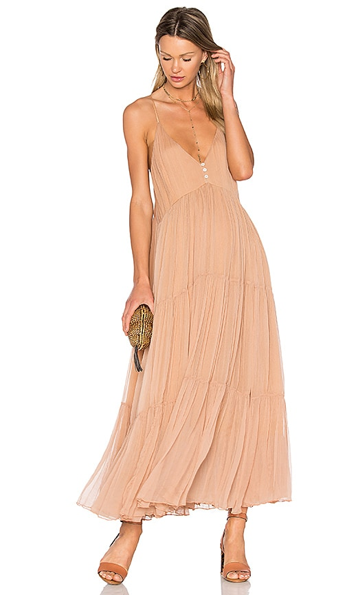 Mes Demoiselles Celeste Dress in Tan