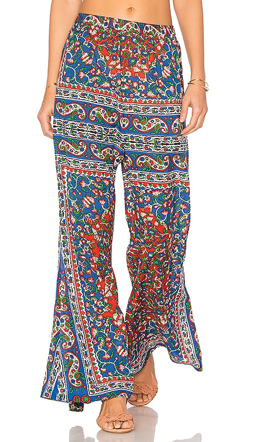 Mes Demoiselles Gypsy Pants in Blue