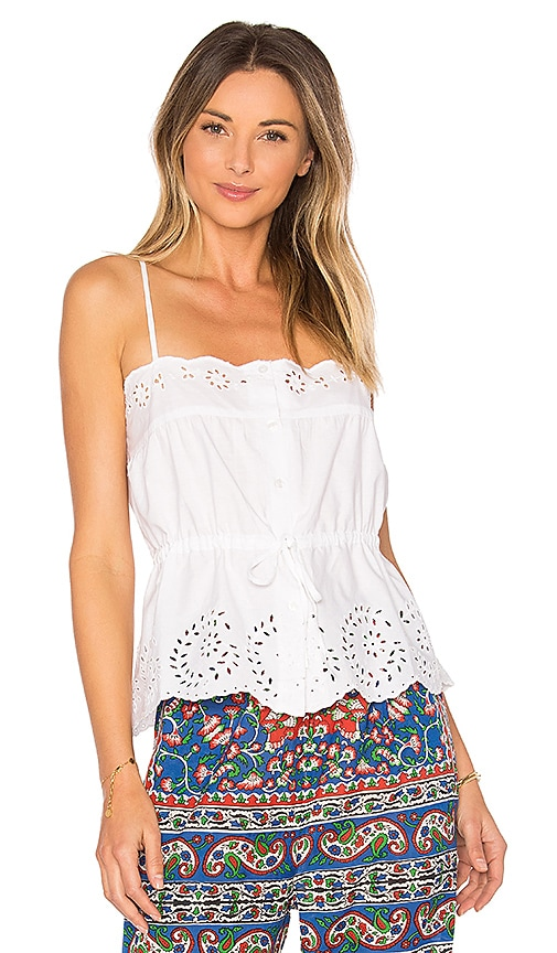 Mes Demoiselles Cute Top in White