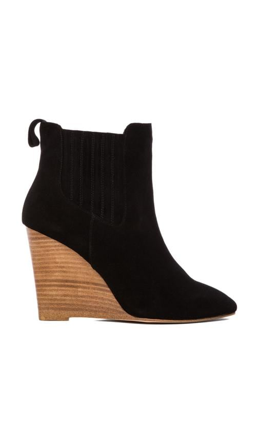 Nero Wedge Bootie