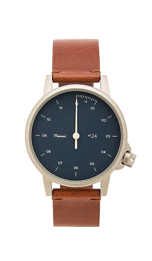 Miansai M24 Watch in Brown
