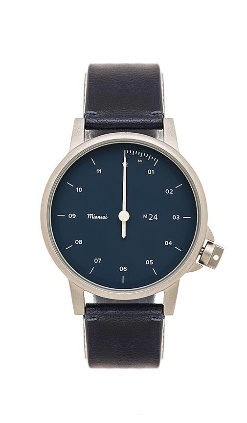 Miansai M24 Watch in Vintage Navy