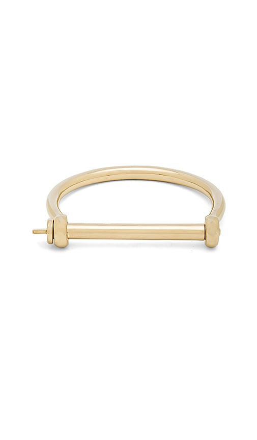 Miansai Screw Cuff in Metallic Gold