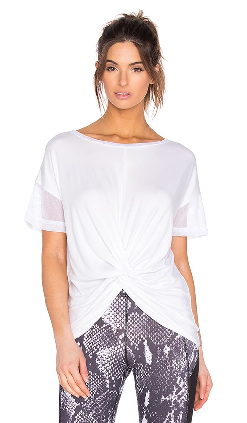 MICHI Farfalla Top in White