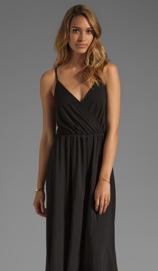 The LBD Alba Deep V Surplice Cami Maxi