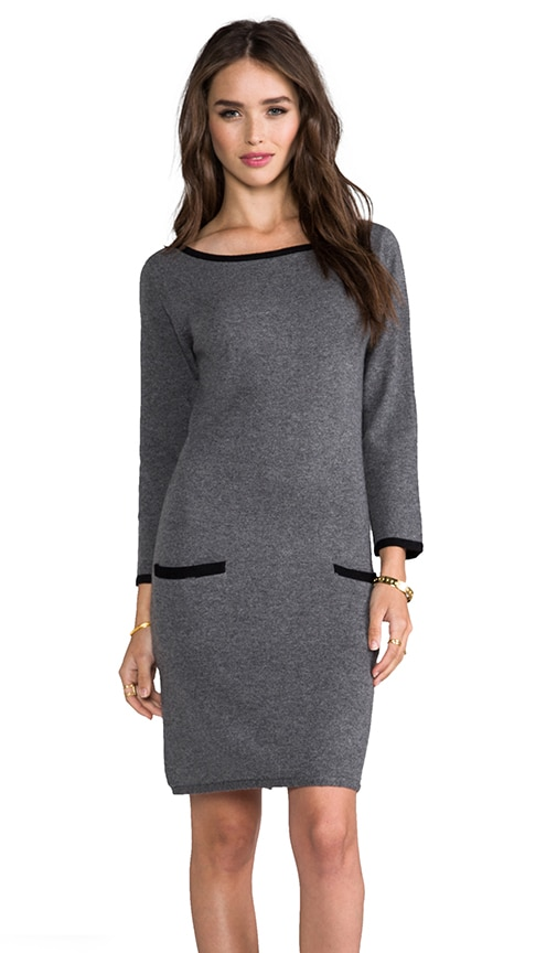 Wide Neck Sweater Dress