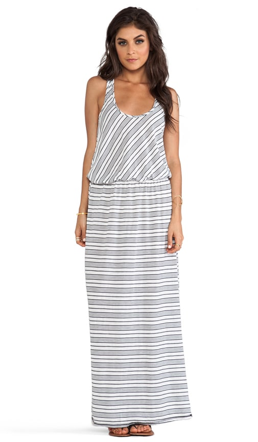Sleeveless Racer Back Maxi Dress