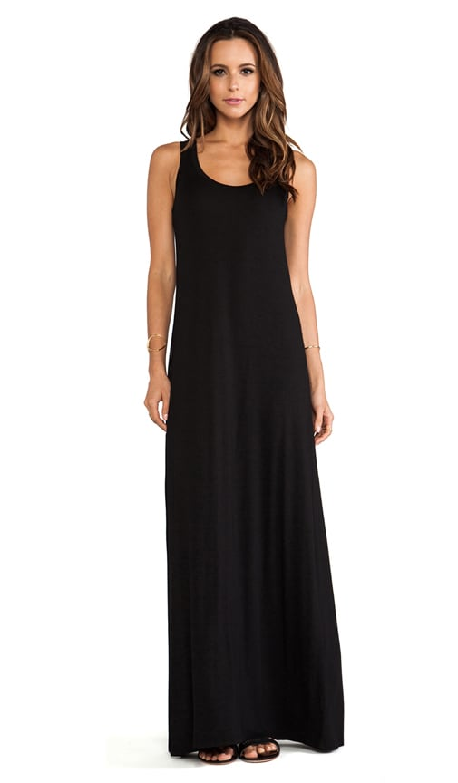 Michael Stars Sonia Sleeveless Tank Maxi Dress In Black Revolve
