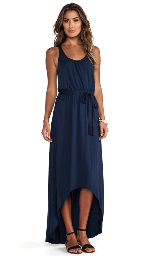 Seamless Scoop Neck Racerback High Low Maxi