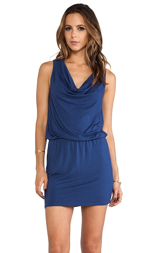 Katie Sleeveless Drape Neck Dress