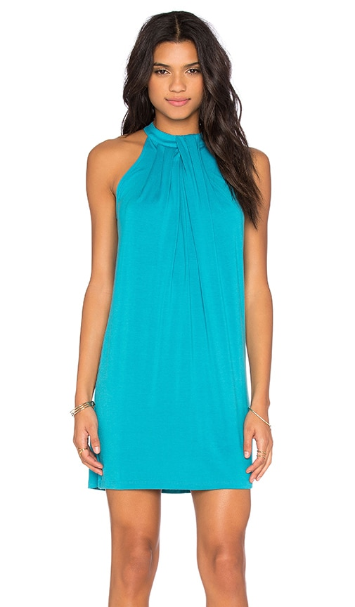 Michael Stars Sasha Dress in Turquoise