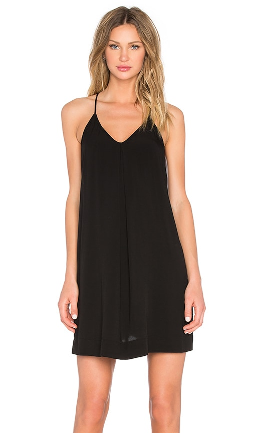 Michael Stars Cami Tank Dress in Black