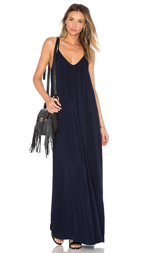 Michael Stars Maxi Slip Dress in Navy