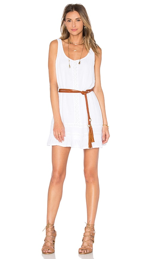 Double Gauze Scoop Neck Tank Dress