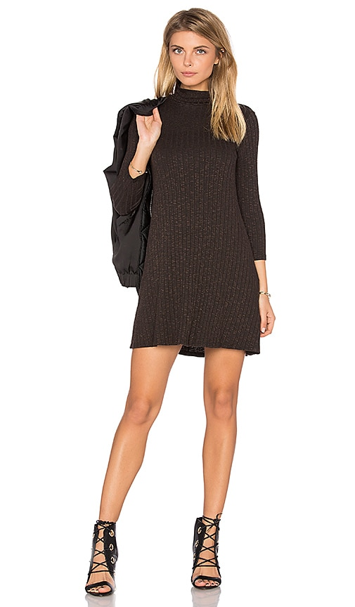 Michael Stars Swing Dress in Brown