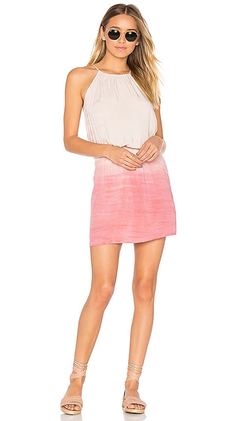 Michael Stars Convertible Dress in Pink
