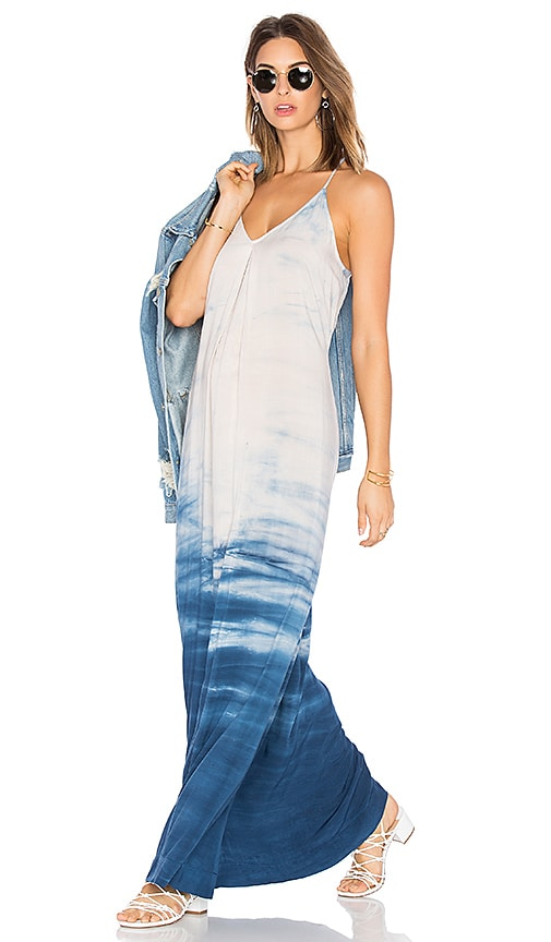 Michael Stars Slip Maxi Dress in Blue