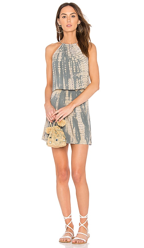 Michael Stars Naomi Halter Dress in Gray