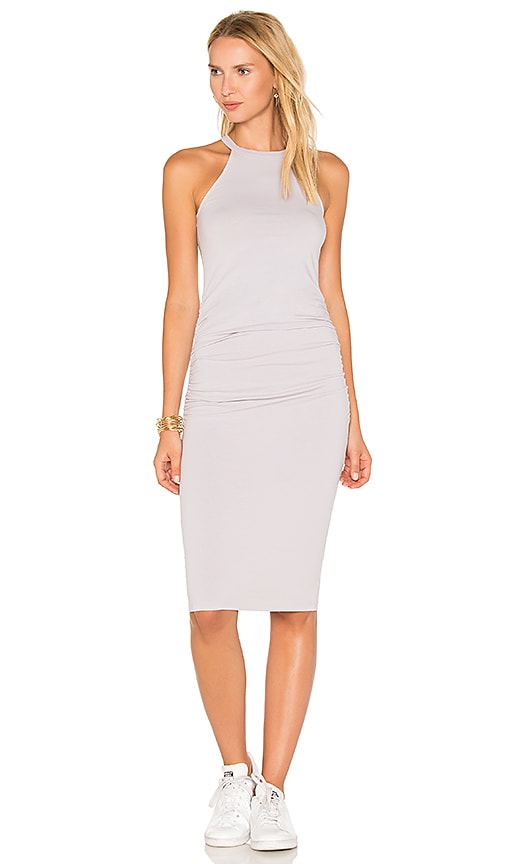 Michael Stars Halter Midi Dress in Lavender