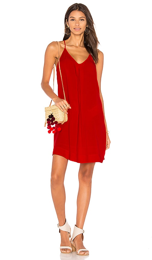 Michael Stars Cami Dress in Red