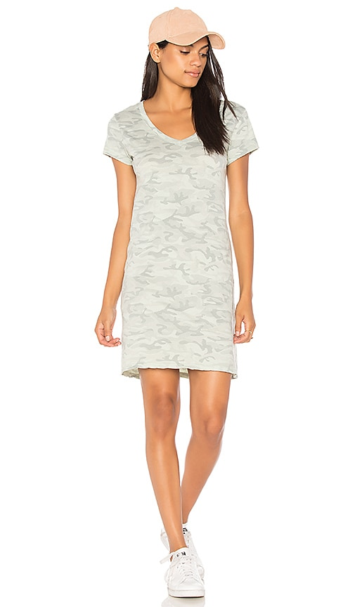 Michael Stars Tee Dress in Sage