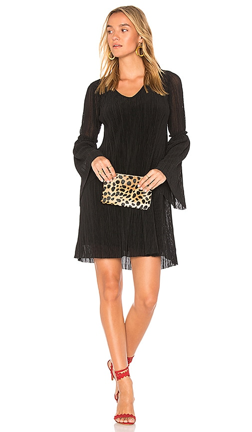 Michael Stars Bell Sleeve Shift Dress in Black