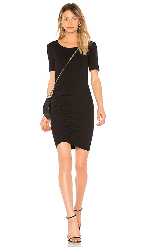 Michael Stars Scoop Neck Dress in Black