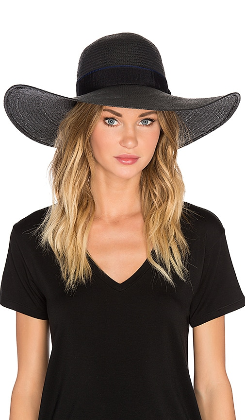 Michael Stars Made In The Shade Floppy Hat in Black