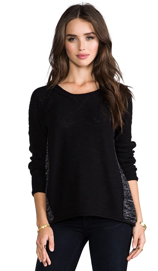 Scoop Neck Raglan Sweater