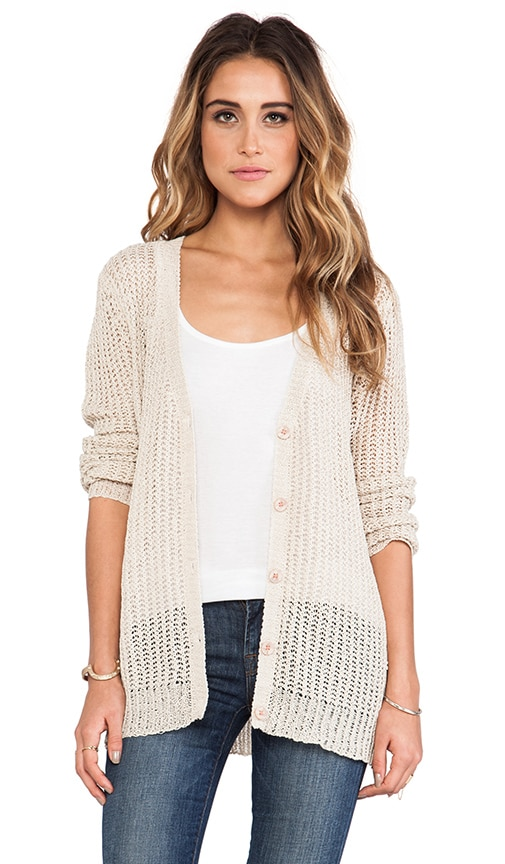 Long Sleeve Button Down Cardigan