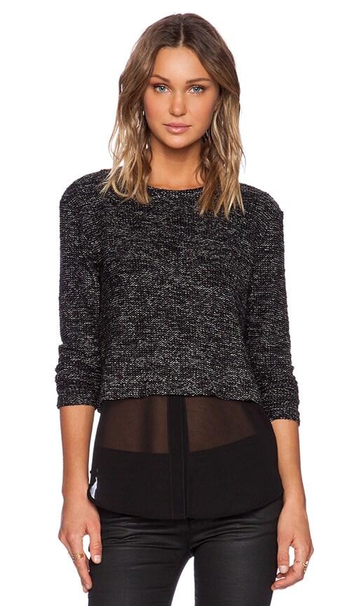 Long Sleeve Crop Pullover