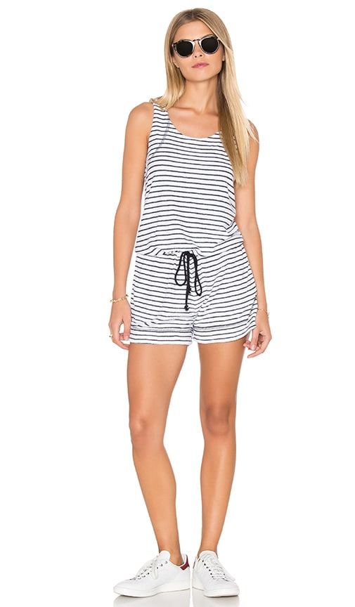 Playa Stripe Tank Romper